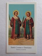 D1008-Santino Santi Cosma E Damiano Fratelli Martiri - Images Religieuses