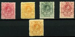 2090- España Nº 278, 280, 269 Y 271/2 - 1889-1931 Kingdom: Alphonse XIII