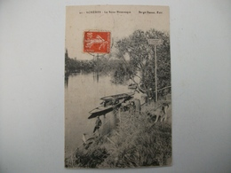 CPA  ACHERES La Seine Pittoresque-Le Passeur - état Voir Détails * - Acheres
