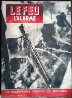 Le Feu Et L'Alarme N° 23 Jullet 1950 - Livres, BD, Revues