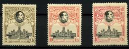 2093- España Nº 298, 300 Y 305 - 1889-1931 Kingdom: Alphonse XIII