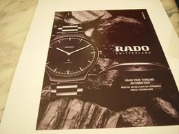PUBLICITE AFFICHEMONTRE BELL&ROSS - Jewels & Clocks