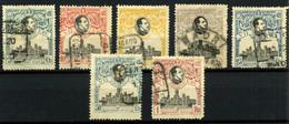2094- España Nº 299/303, 306/7 - 1889-1931 Kingdom: Alphonse XIII