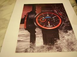 PUBLICITE AFFICHE MONTRE LOUIS VUITTON AMERICA CUP - Jewels & Clocks