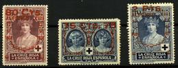 2096- España Nº 380 Y 382/3 - 1889-1931 Kingdom: Alphonse XIII