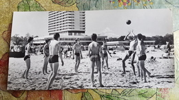 Germany. Warnemunde Beach- Volleyball -OLD Postcard 1974 - Volleyball