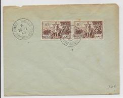 NAVAL - 1945 - ENVELOPPE Du BUREAU N°56 - NON ADRESSEE - Storia Postale