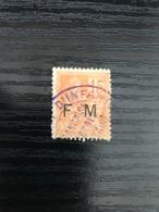 France:1901-04  Timbre  N° 1 F.M Oblitéré - Franchise Stamps