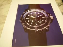 PUBLICITE AFFICHE MONTRE CHANEL - Bijoux & Horlogerie