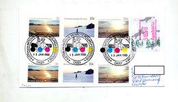 Lettre Cachet Casey Recherche Antarctique Australie Sur Ete + Distributeur - Australian Antarctic Territory (AAT)