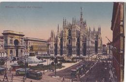 MILANO - PIAZZA DEL DUOMO   VG   AUTENTICA 100% - Milano
