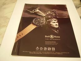 PUBLICITE AFFICHE MONTRE BELL & ROSS - Bijoux & Horlogerie