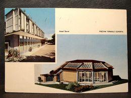 (FG.RR103) ABANO TERME - HOTEL TERME SANAT, PISCINA TERMALE COPERTA (PADOVA) VIAGGIATA 1965 - Padova