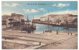 Cpa Ile De Ré - St-Martin - Le Port - Ile De Ré