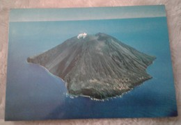 Eolie - Isola Di Stromboli - Fantastica Veduta Aerea Dell Isola - Messina