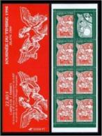 Année 1998 - N° 3137 - T-P N° 3135 X 3 Et 3136 X 4 - Type Blanc 1900 - Journée Du Timbre