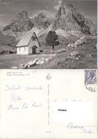 Trento Sassolungo Chiesetta Presso Il Rifugio Passo Sella Dolomiti - Trento