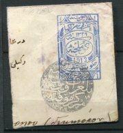 THRACE  - Occupation Turque  : Partie D'Entier Postal 1913 - Thrace