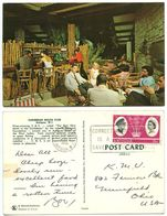 Antigua 1966 Postcard Caribbean Beach Club, St. John's To U.S., Scott 162 Royal Visit - Antigua & Barbuda