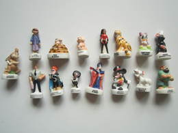 LOT De 15 Fèves RAJAH KAA BABY DAISY VIOLETTE JANE INDESTRUCTIBLE MICKEY EDNA PRUNELLE PIRATE JAFAR LAPINOT REMY SYNDROM - Disney