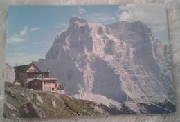 Dolomiti - Gruppo Del Civetta - Rifugio Adolfo Sonnino Al Codai Verso Il Pelmo 1992 - Belluno