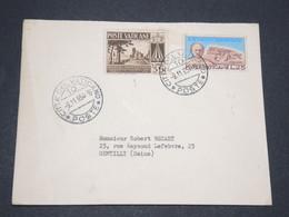 VATICAN - Enveloppe Pour La France En 1954 - L 13427 - Lettres & Documents