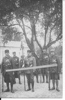 1915 Garde Au Drapeau Soldats Français Médaillés RMLE Rgt. De Marche De La Légion étrangère 1 Carte Photo Ww1 - Guerra, Militari