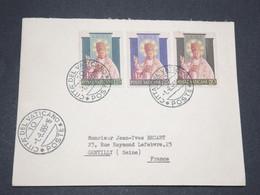 VATICAN - Enveloppe Pour La France En 1955 - L 13428 - Lettres & Documents