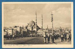 ISTANBUL LA MOSQUEE YENI DJAMI 1953 - Turchia