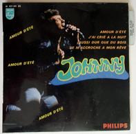 Johnny Hallyday 45 Tours EP 1967 - Amour D'été Philips 437341 - Rock