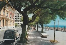 CARTOLINA: (LT) NETTUNO - PASSEGGIATA LUNGOMARE (MOVIMENTATA, AUTO D'EPOCA) - F/G - COLORI - VIAGGIATA - LEGGI - Italia