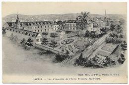 ONZAIN - Vue D'ensemble De L'école Primaire Supérieure - Francia