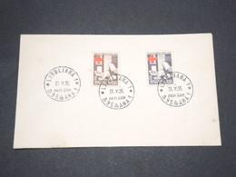 YOUGOSLAVIE - Timbres De Bienfaisance Sur Enveloppe En 1955 - L 13431 - 1945-1992 Socialist Federal Republic Of Yugoslavia