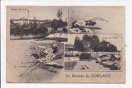 CPA ITALIE Un Ricordo Da GORLAGO - Bergamo
