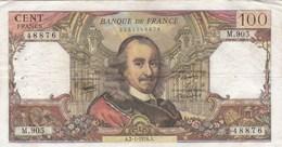 France - Billet De 100 Francs Type Corneille - 2 Janvier 1976 A - 1962-1997 ''Francs''