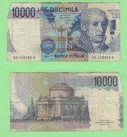 10000 10.000 Lire 1988 Volta Repubblica Italiana - [ 2] 1946-… : Républic