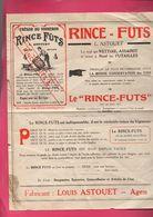 Agen (47 Lot Et Garonne)  Prospectus RINCE FUTS ASTOUET (PPP7533) - Advertising