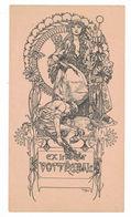EX LIBRIS   Illustratore MUCHA - Ex Libris
