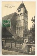 Courtenay. L'église. Tout Romane - Courtenay