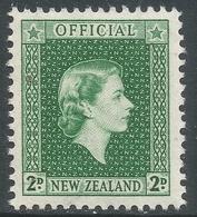New Zealand. 1954 QEII Official. 2d MNH. SG O163 - Officials