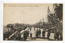 Monte-Carlo - Les Terrasses Et Le Rocher De Monaco - Monte-Carlo