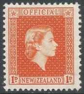 New Zealand. 1954 QEII Official. 1d MNH. SG O159 - Officials