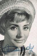 Annie CORDY - Autographe 1964 - Photo VALLOIS - Autographs