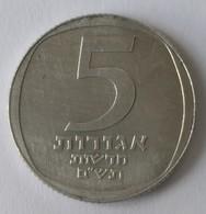 Monnaies - Israel - 5 Agorot 1980 - - Israel