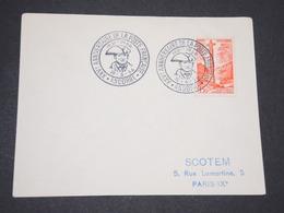 ANDORRE - Oblitération Temporaire Sur Enveloppe En 1956 - L 13446 - Lettres & Documents