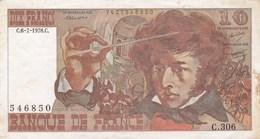 France - Billet De 10 Francs - Hector Berlioz - 6 Juillet 1978 C - 10 F 1972-1978 ''Berlioz''