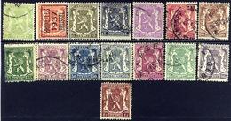 Belgie 1936 - 1949, Belgium, Belgique, Belgien, Armoiries, YT 418 / 715, SG 727 / 744 - 1935-1949 Klein Staatswapen