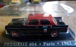 TAXI G7 PARIS PEUGEOT 404 1962  COLLECTION TAXIS DU MONDE ALTAYA  VOITURE MINIATURE ECH. 1/43 - Cars & 4-wheels