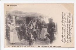 CPA JEAN AICARD En Camargue Devant Le Mas - Aicard
