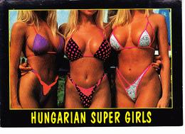 HUNGARIA (BULGARIE) Super Girls, 3 Femmes En Maillot De Bain, Ed. ARS UNA STUDIO Budapest 2000 Environ - Humour
